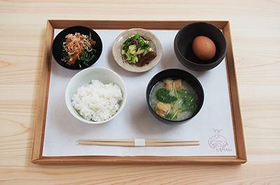 竈の朝ごはん ¥600(税込)