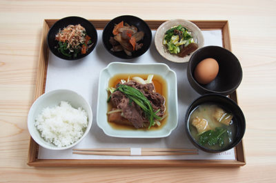 Simmered Beef and Tofu Lunch ¥1,680
