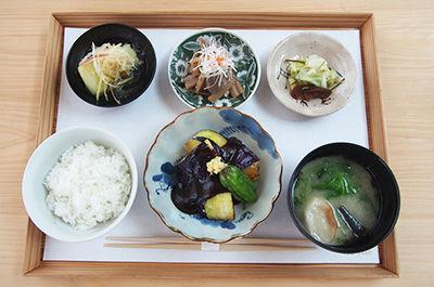 大和丸茄子の田楽定食 ¥1,250
