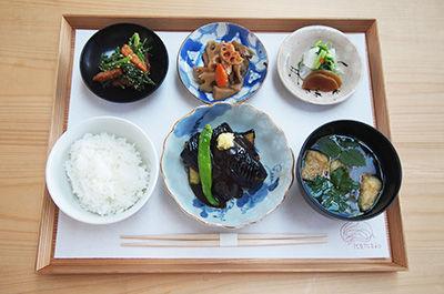 茄子の田楽定食 ¥1,300(税込)