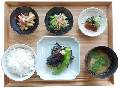 茄子の田楽定食 ¥1,350(税込)