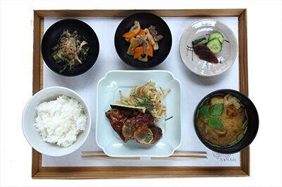 野菜の肉巻き定食 ¥1,600(税込)