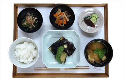 茄子の田楽定食 ¥1,400(税込)