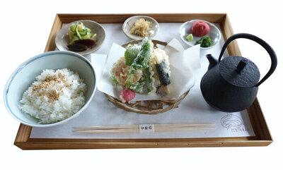 天茶定食 ¥1,700(税込)
