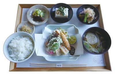 季節の天ぷら定食 ¥1,800(税込)