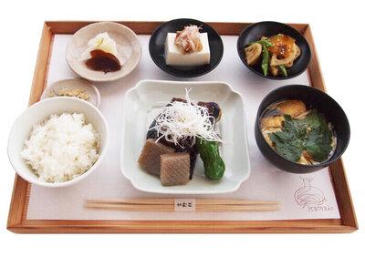 茄子田楽 定食 ¥1,700(税込)